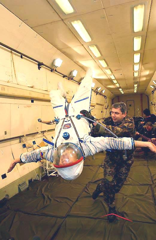 Spacesuit Windmill
